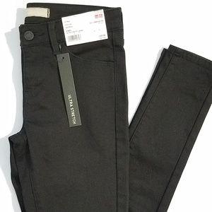 Legging Fit Straight Leg Stretch Black SkinnyJeans